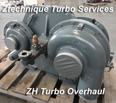Atlas Copco ZH Turbo Overhauls - Services & Spare Parts