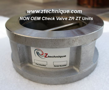ZR / ZA Size 2 NON OEM check valve for models of Atlas Copco compressor oil free
