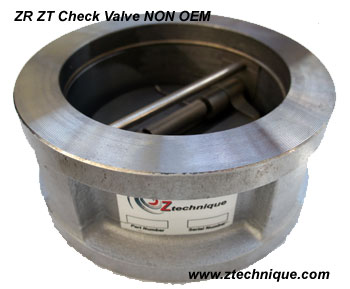 New Check Valve NON OEM for ZA ZT  ZE ZR models Feb 2013