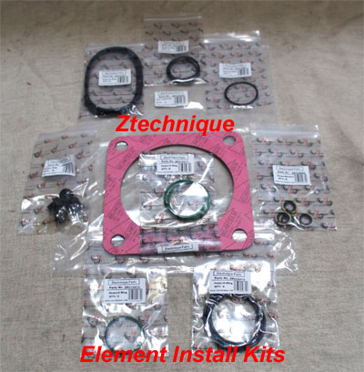 Our Part Number ZK030009 OEM Part Number  2906 0370 00 Model Of Z Compressor ZR110-145 LP Element Install Kit