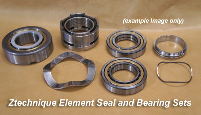 Seals and Bearing Sets for ZR ZA ZT ZE Air Ends
