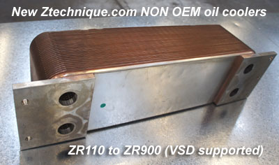 New ZR ZA ZE NON OEM Oil Cooler Solution